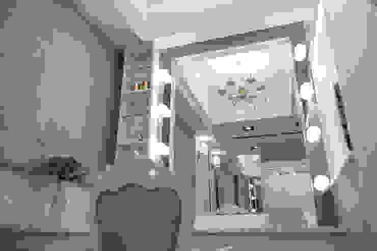 桃園 H公館: 現代  by 奇恩室內裝修設計工程有限公司, 現代風