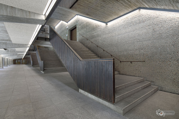 Foyer - Technische Uni München Moderne Schulen von Fotodesign Antje Neßler Modern