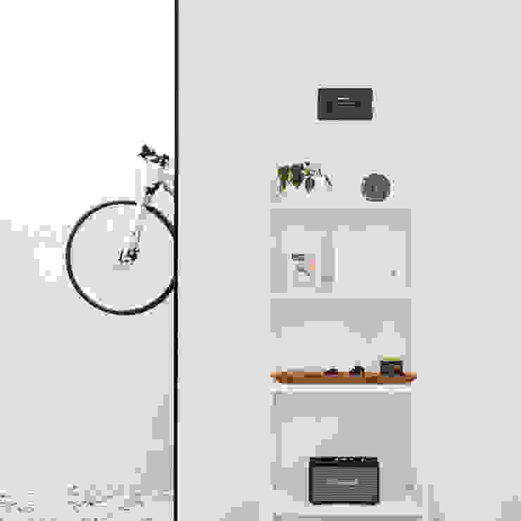 AJ's Backyard Koridor & Tangga Modern Oleh Arkitekt Studio Modern