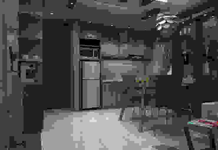 Ruang Makan Sisi Depan Ruang Makan Minimalis Oleh unimony.id Minimalis