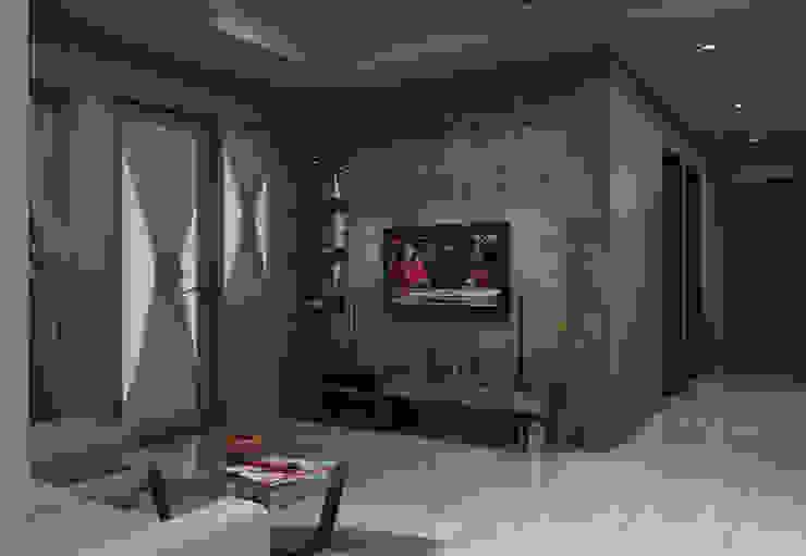 Ruang Keluarga tampak depan Ruang Keluarga Minimalis Oleh unimony.id Minimalis