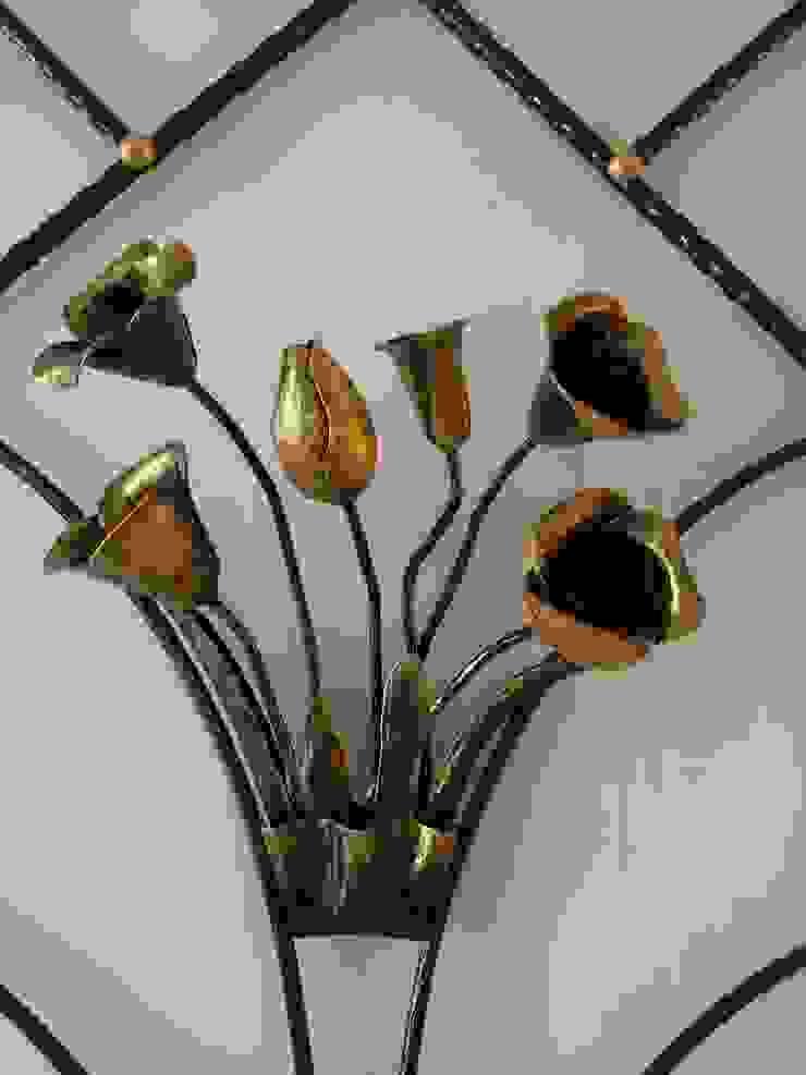手工鍛造花 根據 太辰設計 隨意取材風 鐵/鋼