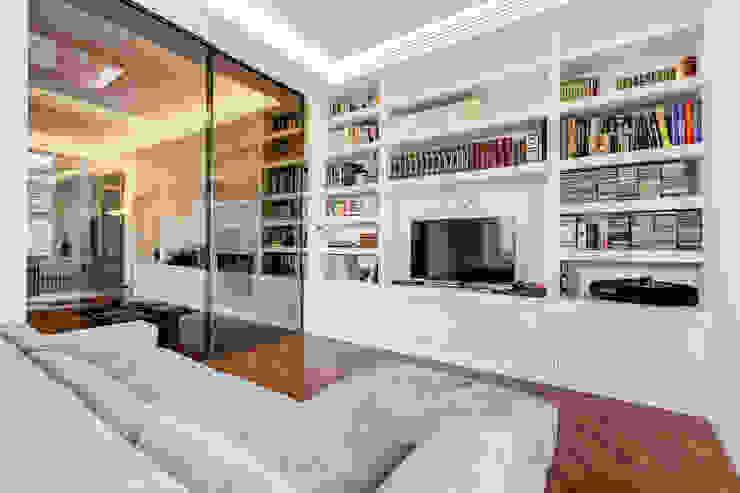 Parioli Residence EF_Archidesign Sala multimediale moderna