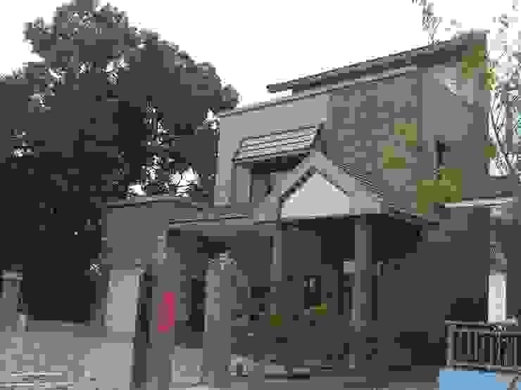 集村農舍 根據 太辰設計 隨意取材風 石板