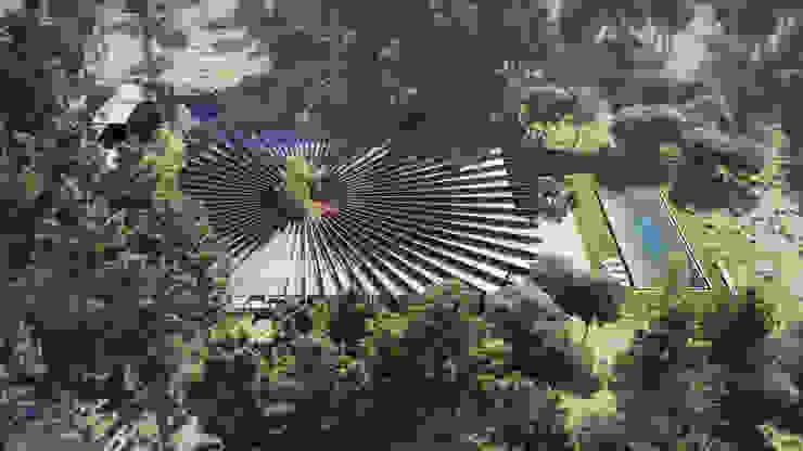 Vista aerea de GilBartolome Architects Moderno