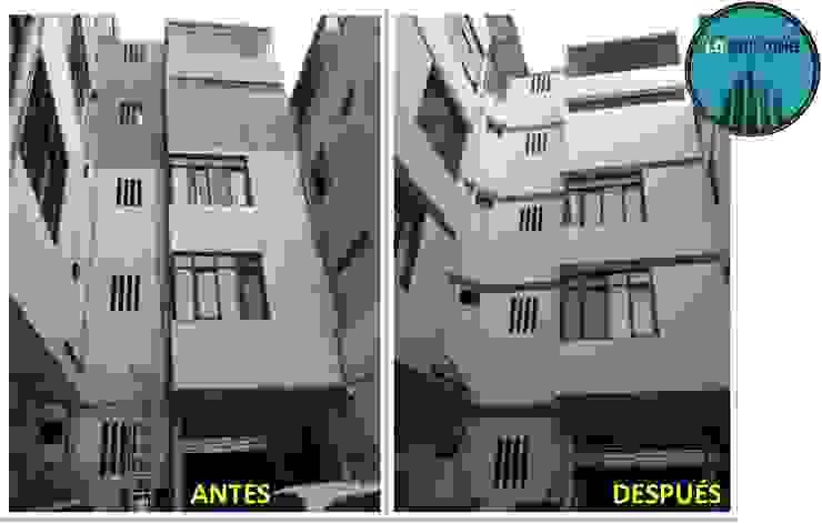 Pintura de fachadas interior y exterior de Hotel Casas modernas: Ideas, diseños y decoración de LD Building EIRL Moderno