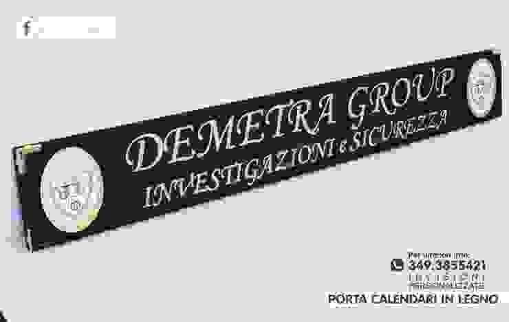 porta calendari personalizzato in legno massello di INCORNICIARE Mediterraneo