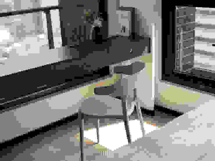 de WID建築室內設計事務所 Architecture & Interior Design Moderno