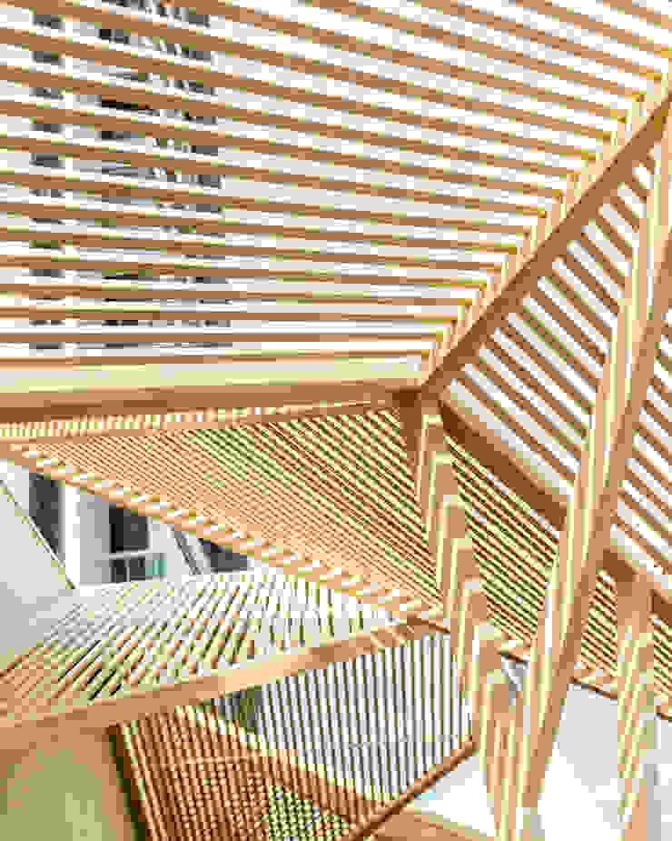 D arquitetura Bar & Klub Gaya Eklektik Metal Wood effect