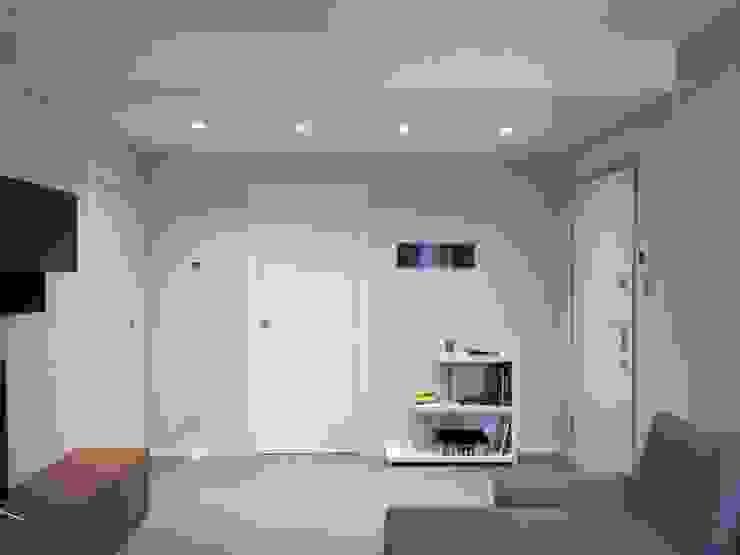 Appartamento Milano Ingresso, Corridoio & Scale in stile moderno di TREZZI INTERNI SNC DI TREZZI FAUSTO, FRANCESCO E DARIO Moderno