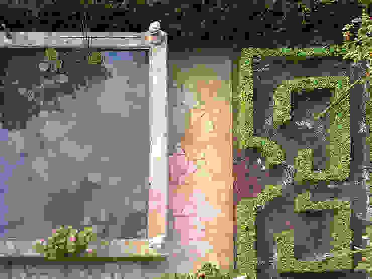 Knotengarten und Gartenteich Blanc & Mecklenburg Architekten Gartenteich Stahlbeton