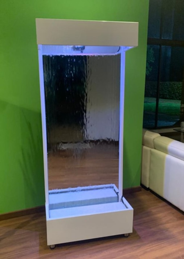 Hermoso espejo de agua de Creart Acabados Moderno Hierro/Acero