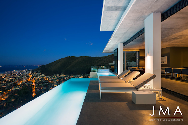 Pool Penthouse - Pool by Jenny Mills Architects Modern