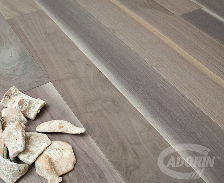 American Walnut Bark by Cadorin Group Srl - Italian craftsmanship Wood flooring and Coverings Modern