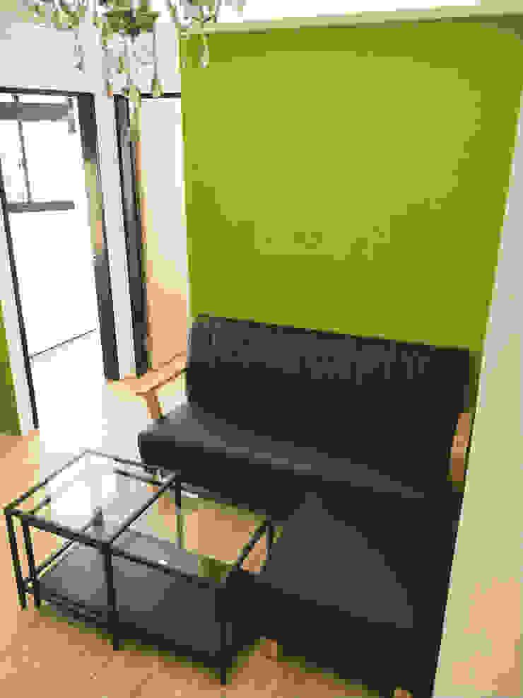 紳士綠: 不拘一格  by 宏畝室內裝修工程有限公司, 隨意取材風