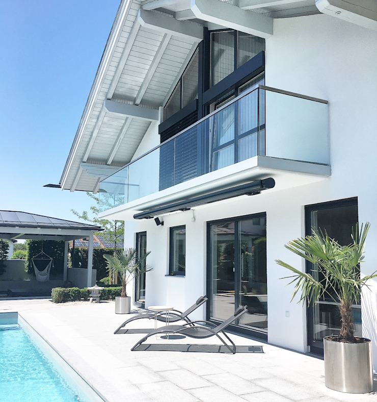Langmayer Immobilien & Home Staging Garden Pool Concrete