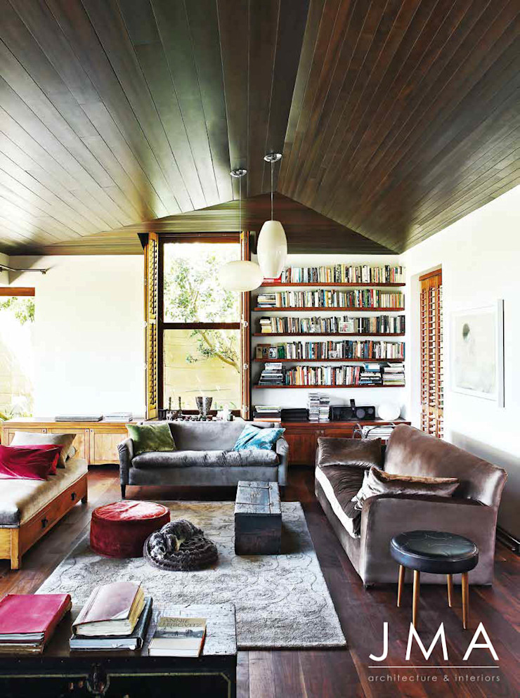 Award Winning Clifton Bungalow - Living Area by Jenny Mills Architects Country