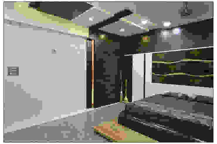 Spacemekk Designers p.LTD Kleine slaapkamer Hout Hout