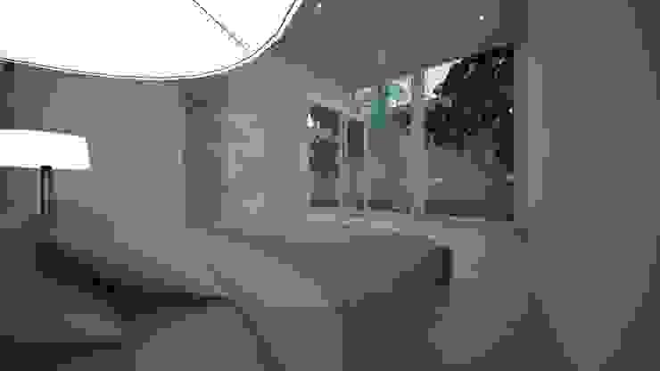 غرفة نوم بتصميم بسيط من عبدالسلام أحمد سعيد أسيوي