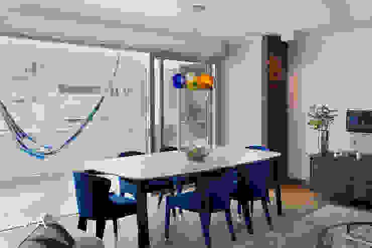 Atlantic Views - Dining Area Jenny Mills Architects Modern dining room