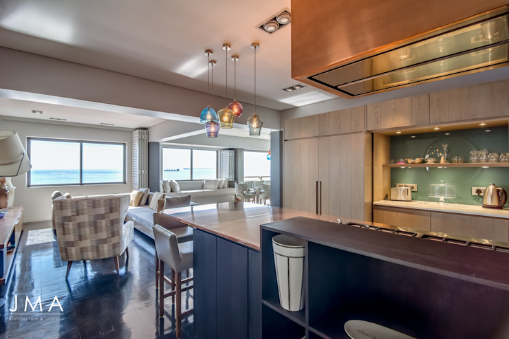 Sea Point Apartment - Kitchen by Jenny Mills Architects Modern