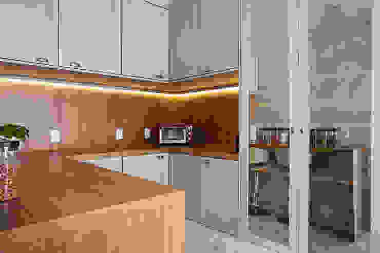 Apto. Vila Mariana Palladino Arquitetura Cozinhas clássicas