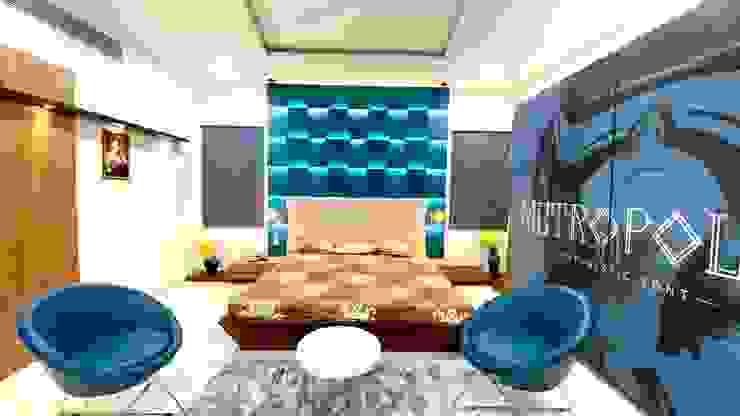 Sons's Bedroom A B Design Studio Eclectic style bedroom Blue
