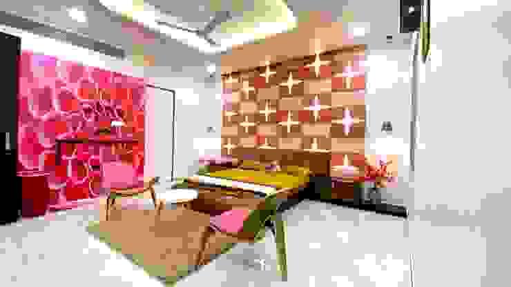 Daughter's Bedroom A B Design Studio Eclectic style bedroom Pink