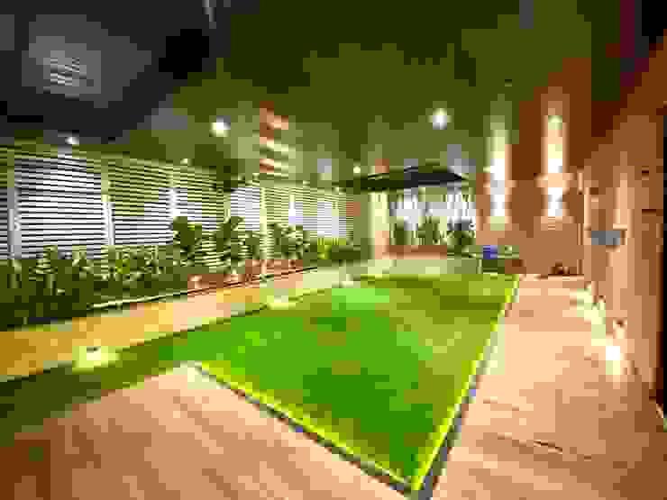 Bungalow for Dr. Shashidhar Kattimani at Ghatprabha, Karnataka A B Design Studio Eclectic style garden
