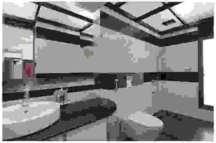 Spacemekk Designers p.LTD Klassieke badkamers Marmer Zwart