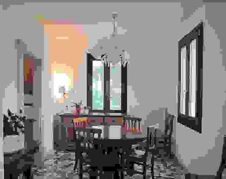 Sala da pranzo Studio Dalla Vecchia Architetti Sala da pranzo in stile classico Variopinto