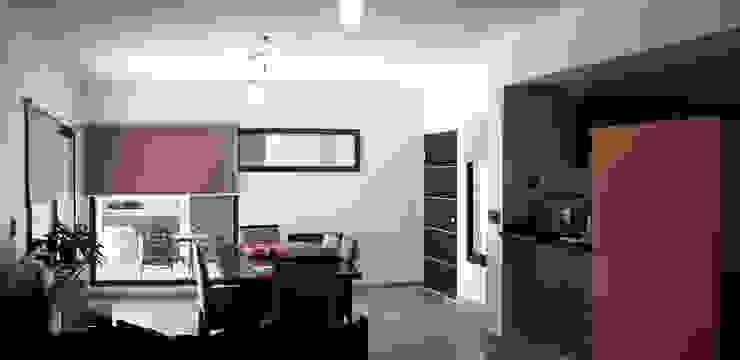 Casa Ts3_4 ELVARQUITECTOS Livings modernos: Ideas, imágenes y decoración Mármol Marrón