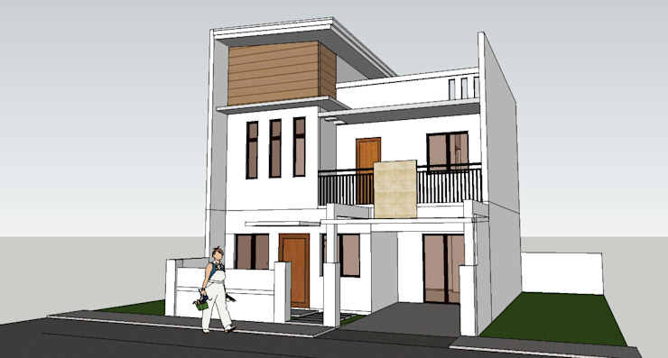 Proposed 2 Storey WITH Deck Building by j.g taño builders