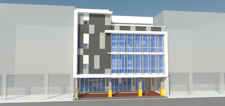 Proposed 4 Storey Commercial Office with Deck Building j.g taño builders