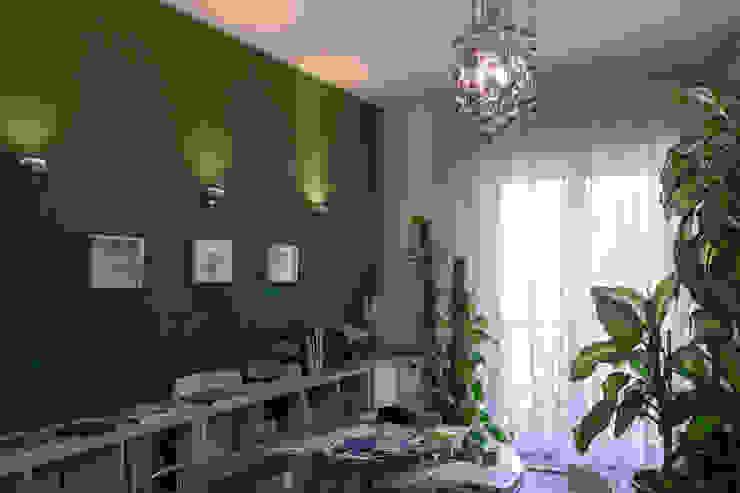 Full color study Architetto Floriana Errico StudioContenitori Legno Viola/Ciclamino
