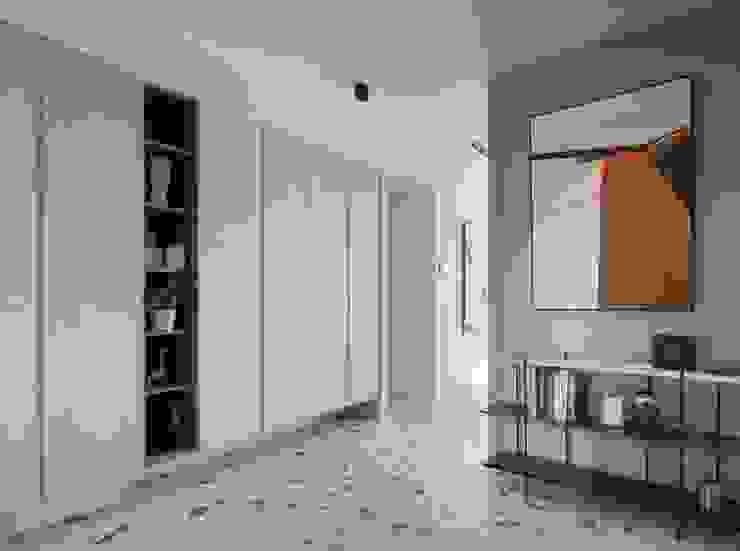 森活 現代風玄關、走廊與階梯 根據 澄月室內設計 現代風