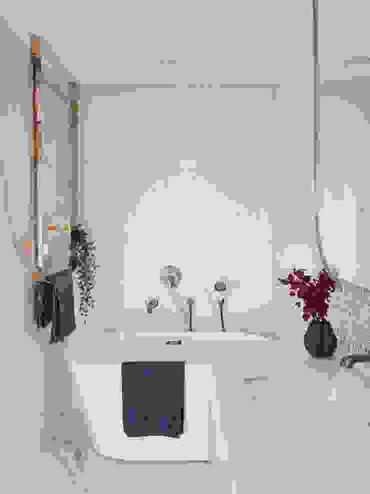 森活 現代浴室設計點子、靈感&圖片 根據 澄月室內設計 現代風