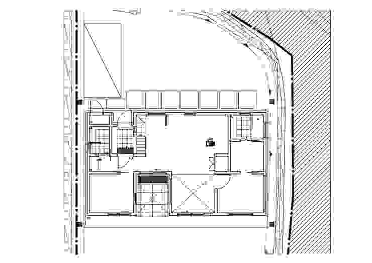 고급스러움과 간결함의 벽돌단층집, 양평 전원주택: 위드하임의 현대 ,모던