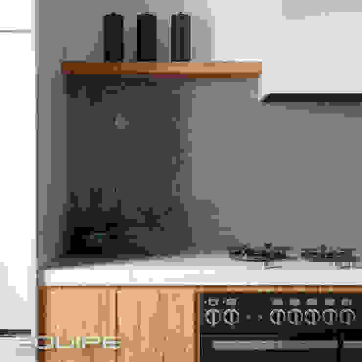 Masía Equipe Ceramicas Cocinas de estilo industrial Azulejos Gris