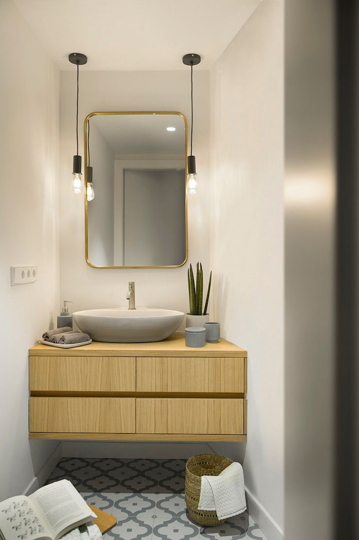 Egue y Seta Eclectic style bathroom