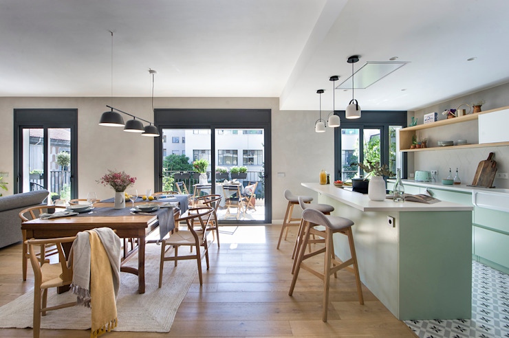 Egue y Seta Eclectic style dining room