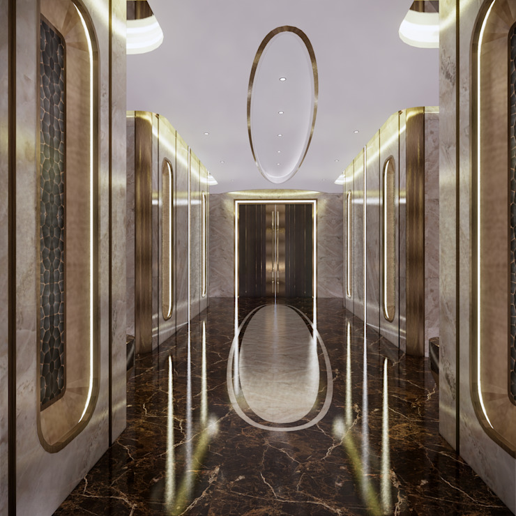 Presidential Suite Modern hotels by TheeAe Architects Modern