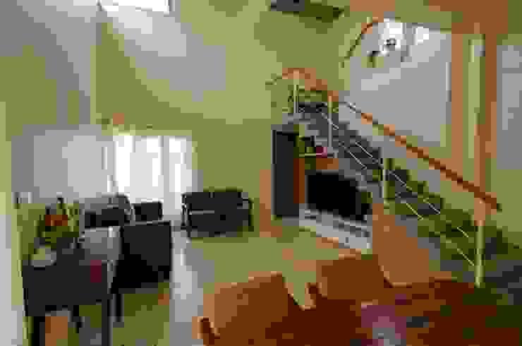 Living Room Modern living room by Ideation Design Modern Concrete