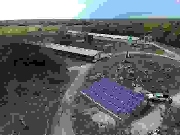 Proyecto fotovoltaico para tarifa Media Tensión. Granja. SIDERA Energy Solutions Tejados