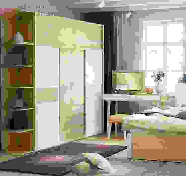 hiện đại  theo Kiến trúc và nội thất Lenado, Hiện đại Gỗ Wood effect