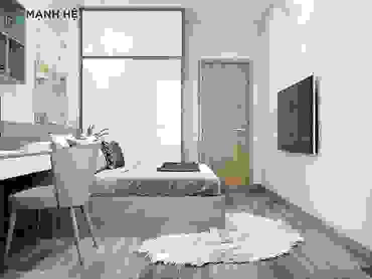 Phòng ngủ Master bởi Công ty TNHH Nội Thất Mạnh Hệ Hiện đại Bần