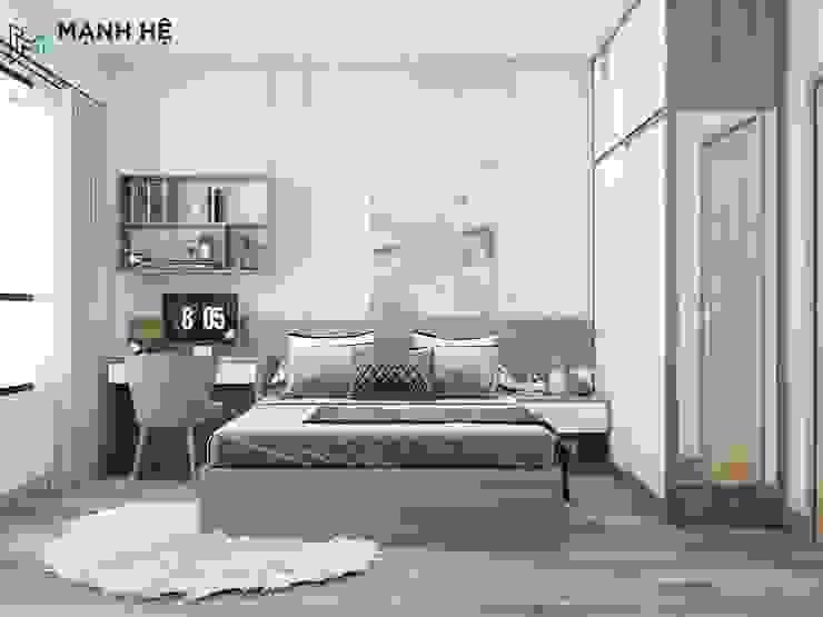 Phòng ngủ Master Phòng ăn phong cách hiện đại bởi Công ty TNHH Nội Thất Mạnh Hệ Hiện đại Bần