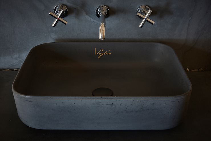 Artis Visio BathroomSinks Concrete Black