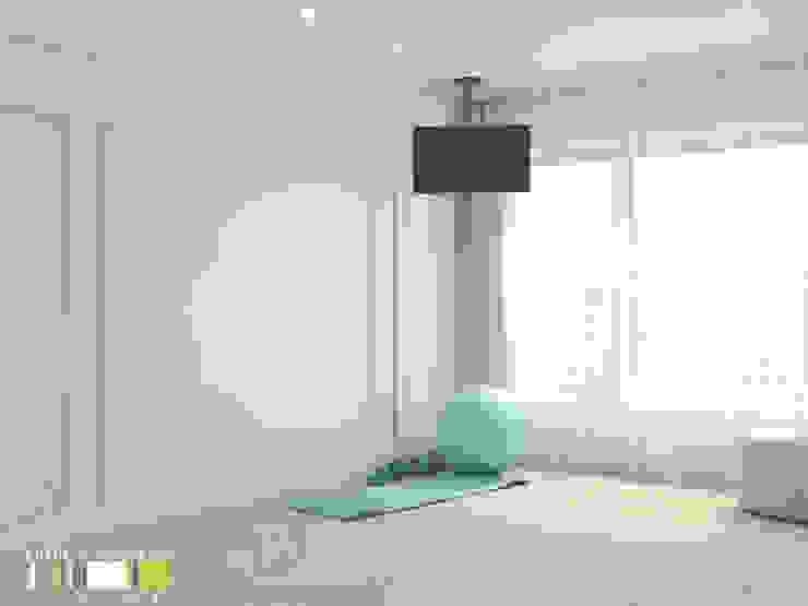 에클레틱 피트니스 룸 by Мастерская интерьера Юлии Шевелевой 에클레틱 (Eclectic)