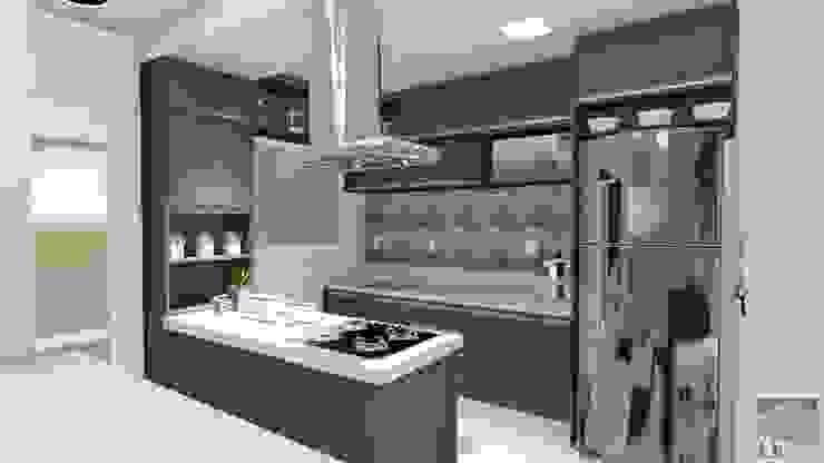 LK Engenharia e Arquitetura Modern kitchen